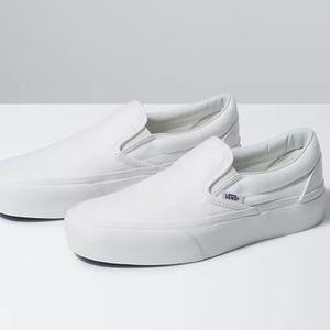 NWT White Vans